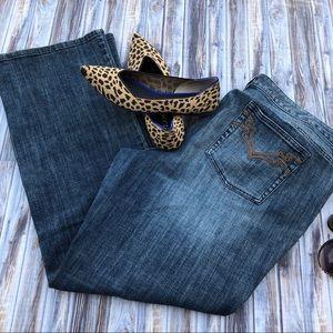 Michael Kors Plus Size Denim Jeans Bootcut